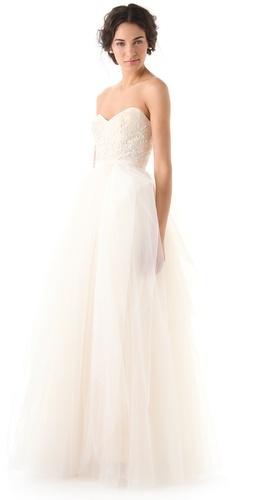"""Reem Acra """"Eternity"""" dress"""