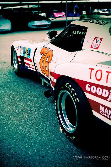 1976 Le Mans Corvette by Stefan Marjoram, via Flickr