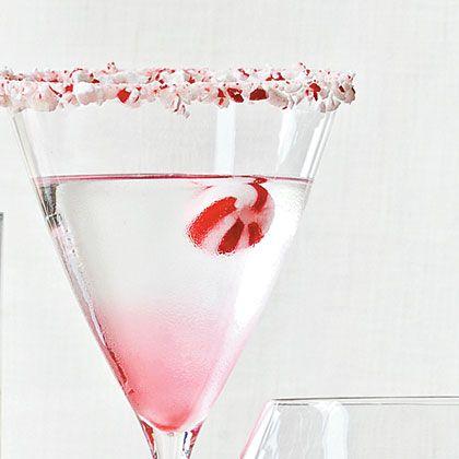 Candy Cane Martini recipe!