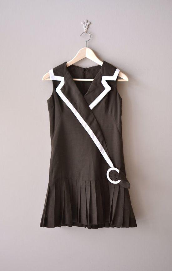 1960's flapper style minidress