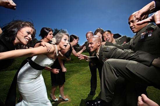 bridal party brawl