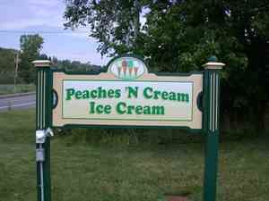 Peaches 'N Cream Ice Cream Parlor, Litchfield, CT--BEST Handmade Ice Cream in CT...Awesome!
