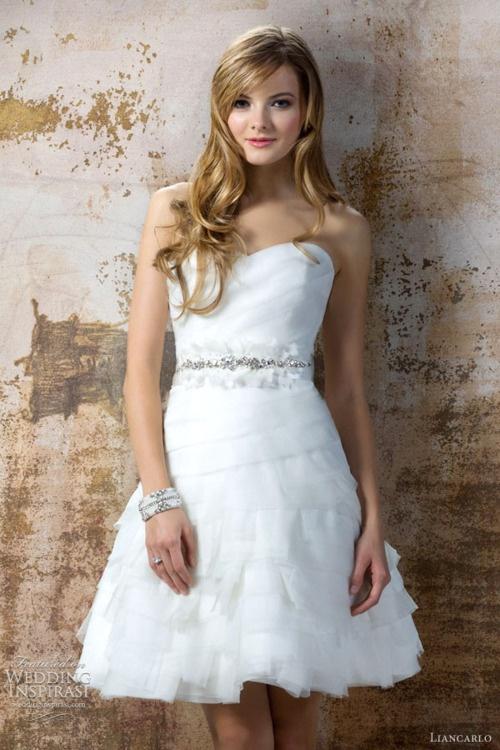 Liancarlo Fall 2012 bridal collection. #wedding #dress