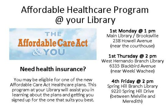 Affordable Health Care help for you!