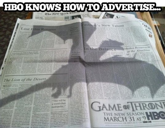 Awesome Game of Thrones ad - www.funny-picture...