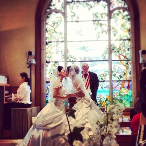seekbi.com --- First #same-sex #wedding at #Tokyo #Disney! #marriage #equality