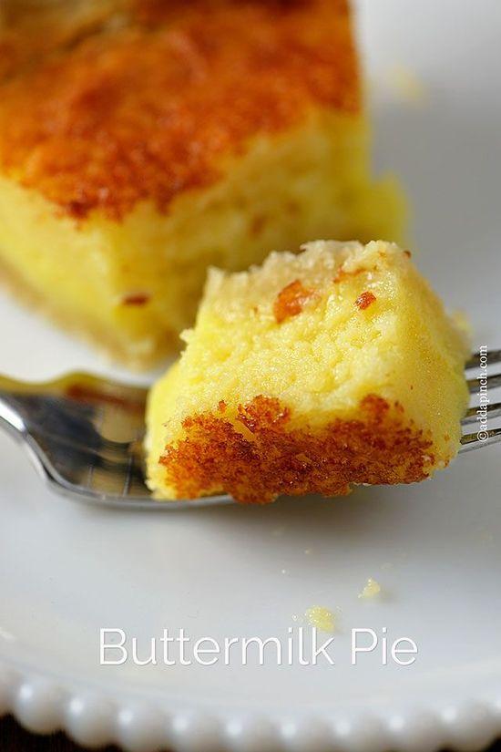 Buttermilk Pie Recipe - Cooking