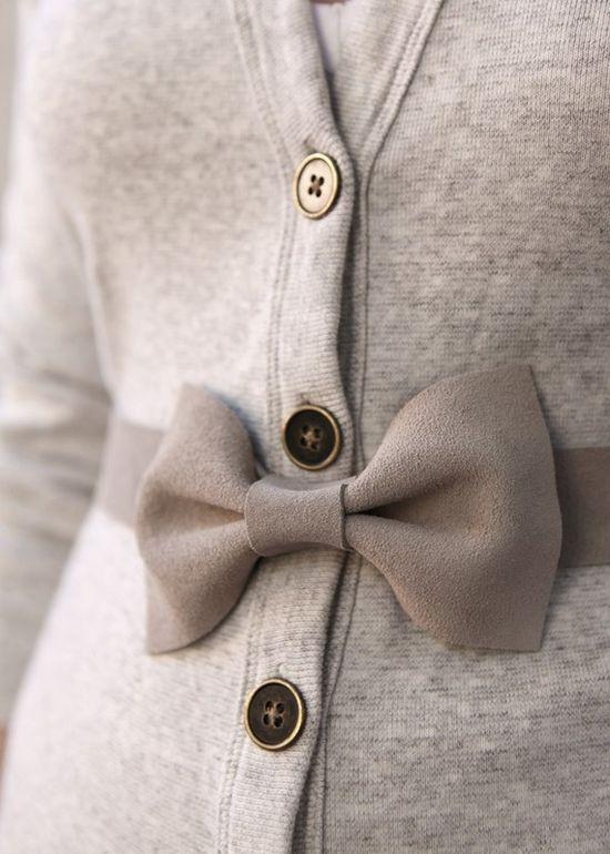 I love bows.
