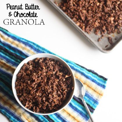 yum! Peanut Butter and Chocolate Granola