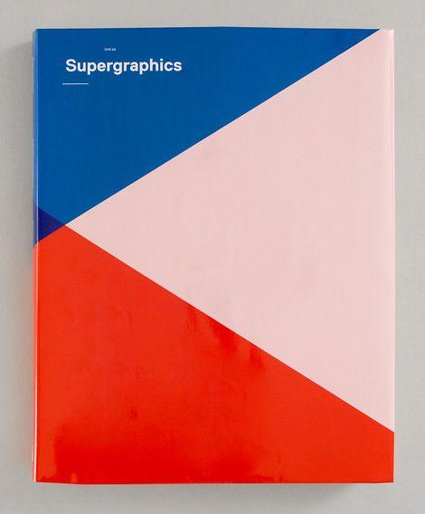 #book #cover #design #supergraphics #red #pink #blue #minimalistic