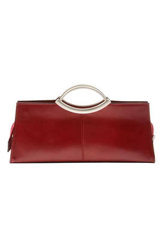Red Rectangle Handbag.
