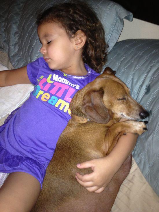 Best friends - Lily & Dobby