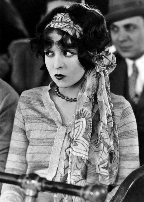 Clara Bow, 1930s.