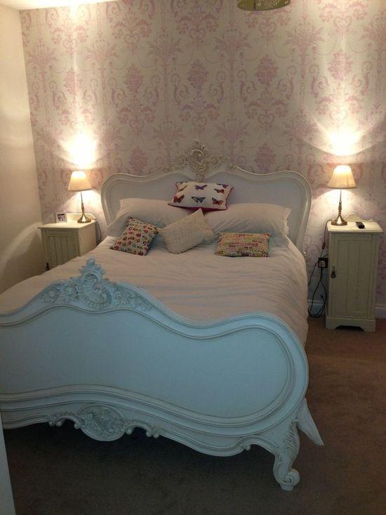 Love my peaceful shabby chic bedroom! - ideasforho.me/... -  #home decor #design #home decor ideas #living room #bedroom #kitchen #bathroom #interior ideas