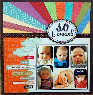 #papercraft #scrapbook #layout    Live, Life, Loud