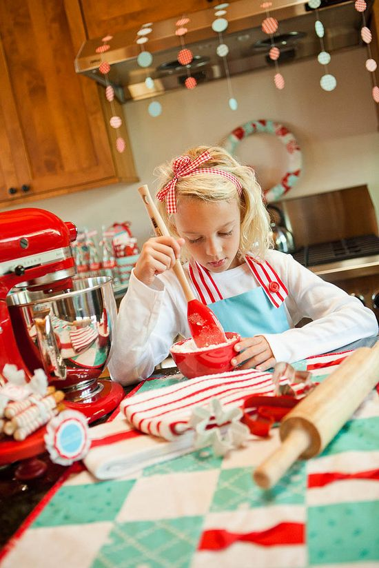 North Pole Baking Christmas Party - Kara's Party Ideas - The Place for All Things Party