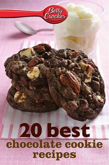 Bargain e-Cookbook: Betty Crocker 20 Best Chocolate Cookie Recipes {99 cents!}