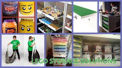 {DIY} Lego Storage Solutions