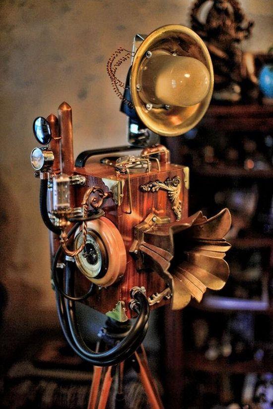 Steampunk Digital Camera -