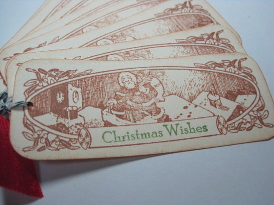CHRISTMAS IN JULY Handmade Vintage Style Christmas by wkburden