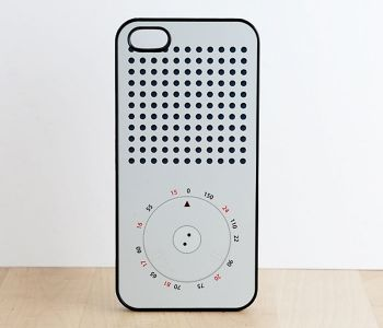 #Radio #iphone #case - Modeled after the Diter Rams Braun Radio. Mid-century #design for a modern phone.