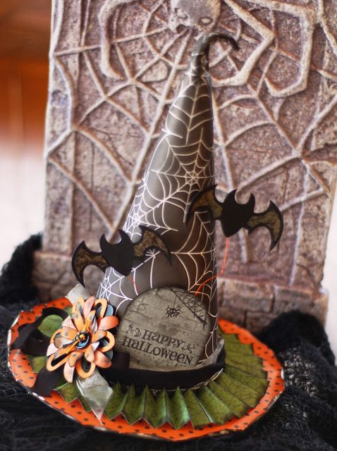 Paper Witch Hat Decor
