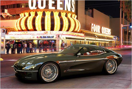 2012 Jaguar E-Type tribute car, the Growler