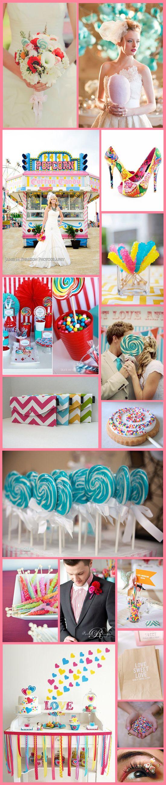 Candy Inspired Wedding Ideas #wedding #bride #weddingideas #weddingplanning #besthairsalon #indianapolis #gmichaelsalon