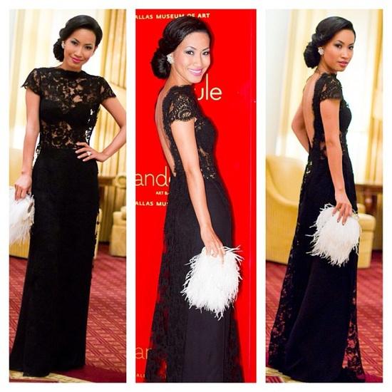 """@ninistyle's photo: """"#throwback wearing Nini Nguyen design #aodai #fashionstylist"""""""