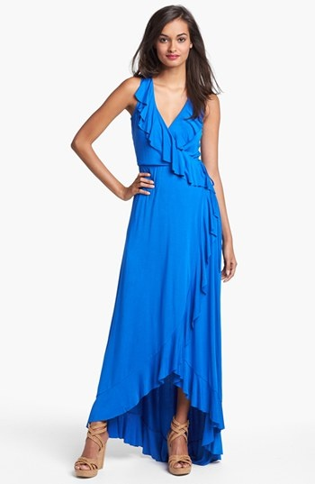 FELICITY & COCO Ruffle Wrap Dress (Nordstrom Exclusive) available at #Nordstrom