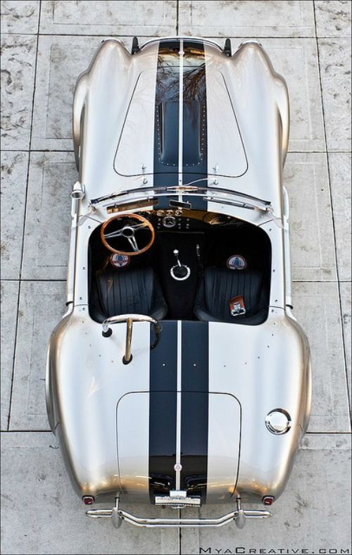 1967 Shelby Cobra in Silver.