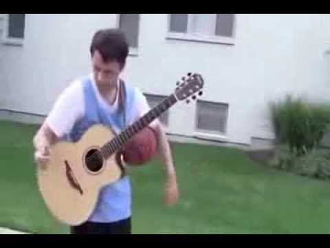 Guitar Basketball Funny Videos   YouTube - sports.artpimp.bi...