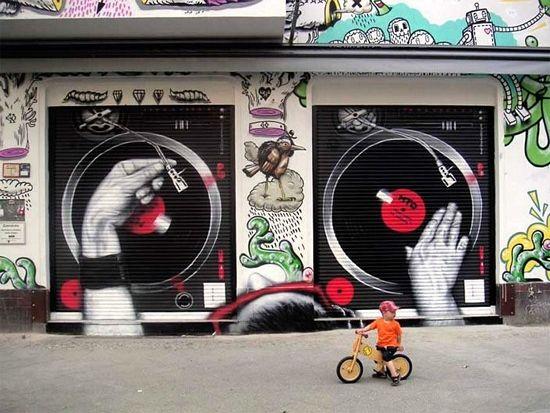 Graffiti by MTO