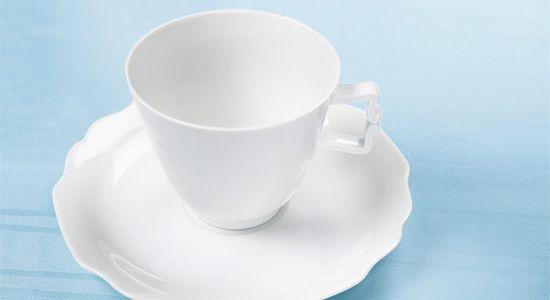 Augarten white porcelain