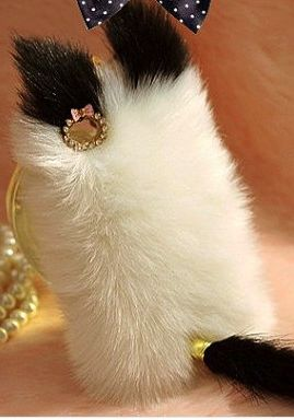 Cute cat fluffy iphone case