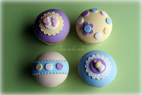 baby shower themed #cupcakes