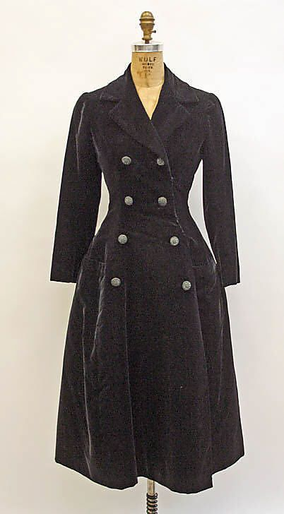 House of Dior evening coat 1954