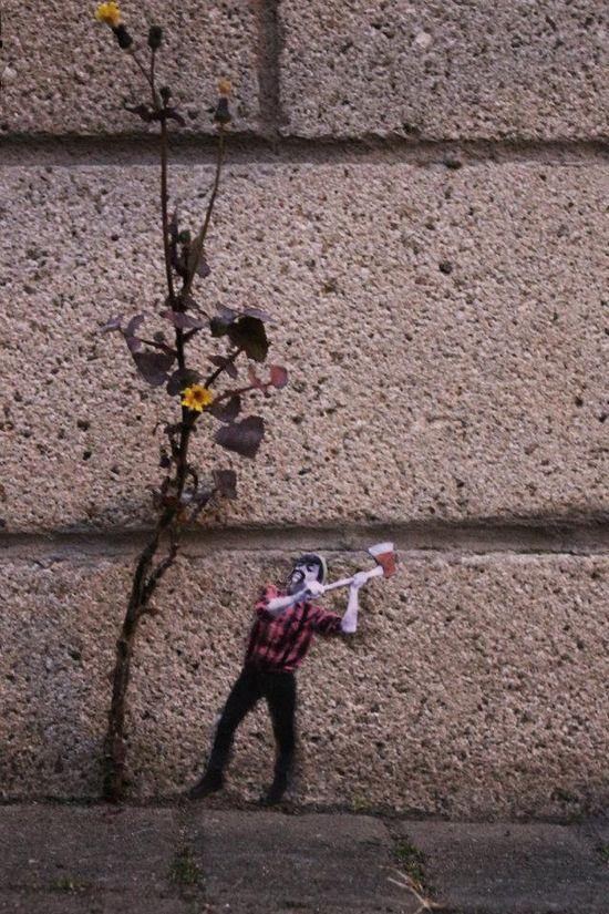 Street Art in Leith-Edinburgh