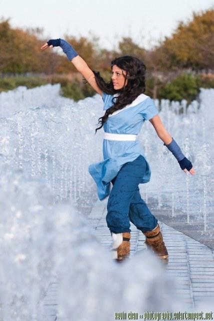Katara, Avatar: The Last Airbender - Fun costume idea, granted its more Cosplay. I love Katara though!
