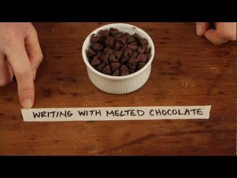 Cool video tip: Writing With Melted Chocolate by @Katie Workman - She's sharing 100 Recipes Every Mom Needs in Her Back Pocket this Friday Night at the Plaza Branch:  www.kclibrary.org...