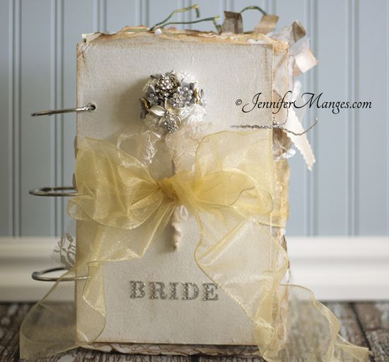 Bride's Handmade journal by JenniferManges.com