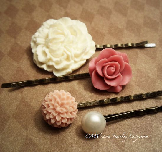 hair accessories for bridesmaids