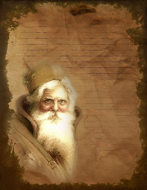 Santa from the old world