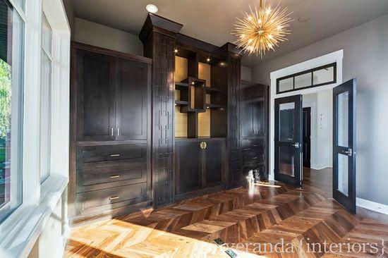 Hillhurst {Custom} Office // Veranda Estate Homes & Interiors