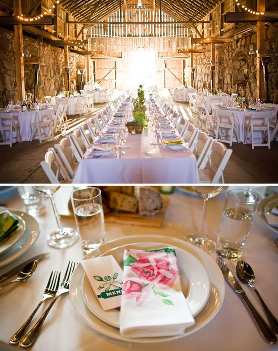 a wedding barn!