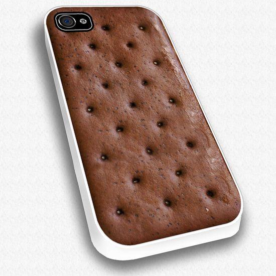 Ice Cream Sandwich iPhone Case.  Cool.