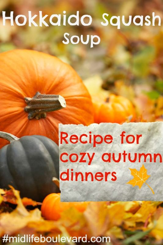 squash soup, hokkaido squash, soup recipe, autumn recipes, healthy eating
