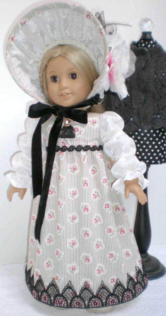 CAROLINE ABBOTT REGENCY Dress  via Etsy.