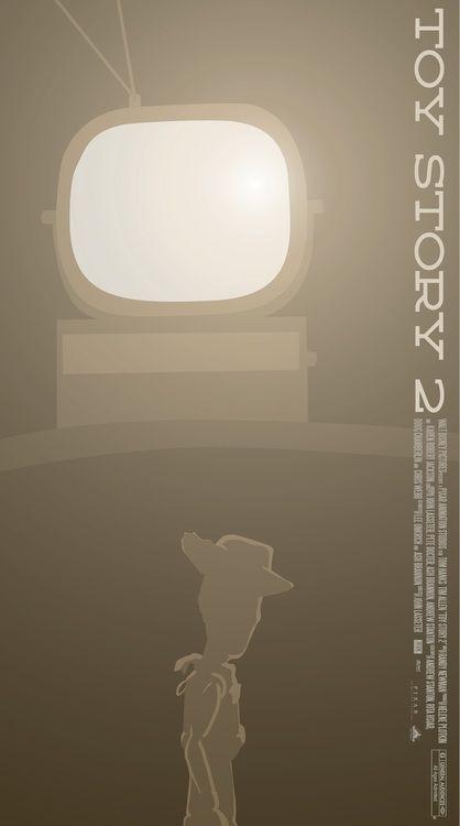 Minimalist Movie Posters: Toy Story 2
