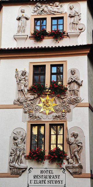Six windows in #Prague by Roman Art